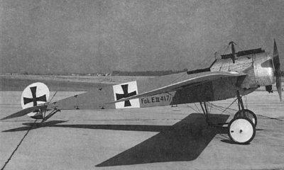 Avions militaires 14/18 allemands Fokker E.I