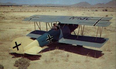 Avions militaires 14/18 allemands Pfalz D.XII