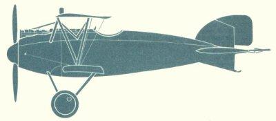 Avions militaires 14/18 allemands Albatros D.III,