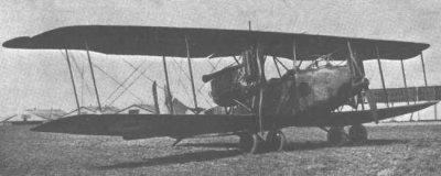 Avions militaires 14/18 allemands  bombardier bimoteur A.E.G. G.IV (type de 1918).