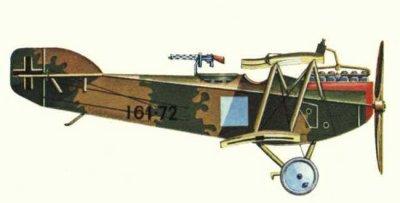 Avions militaires 14/18 autrichien Ufag C.I