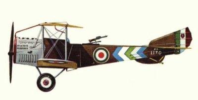 Avions militaires 14/18 italien Pomilio PE