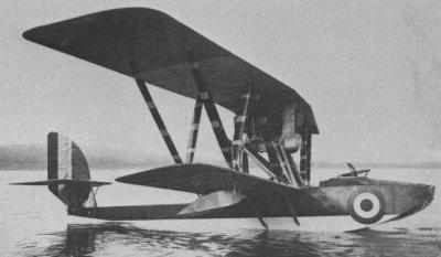 Avions militaires 14/18 italiens Macchi M.8