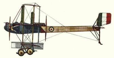 Avions militaires 14/18 italien  Caproni Ca.4