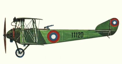 Avions militaires 14/18 russes anatra d