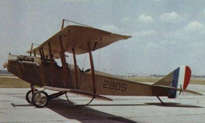 Avions militaires 14/18 américains Curtiss JN-4