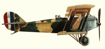 Avions militaires 14/18 américains Packard Le Père-Lusac 11 (1918).