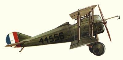 Avions militaires 14/18 américains Standard E-1 (1918).