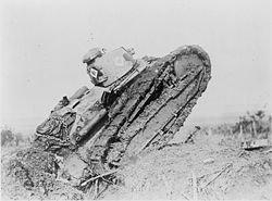 char français Char Renault FT-17  juillet 1917