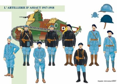 infenterie d'assaut 1917 1918