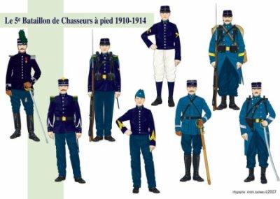 uniforme de la grande guerre 1910 1914