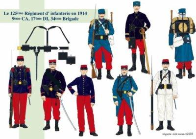 uniforme de la grande guerre