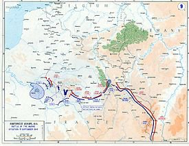 première bataille de la Marne Alexander Heinrich Rudolph von Kluck