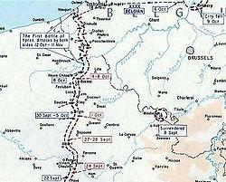 Première bataille  d'ypres Ferdinand Foch