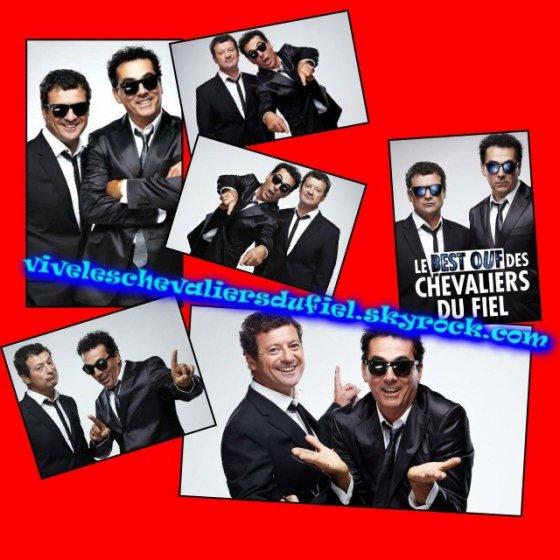 Le Paris vous offre du rire tous les week-ends ! Les Chevaliers du Fiel à Melun Les Chevaliers du Fiel partent en croisière