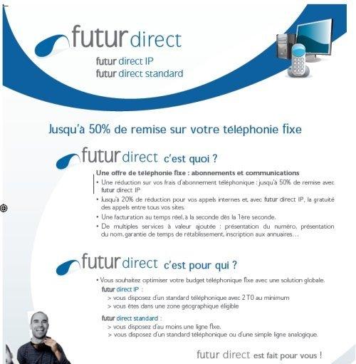 FUTUR DIRECT SUR RESEAU SFR