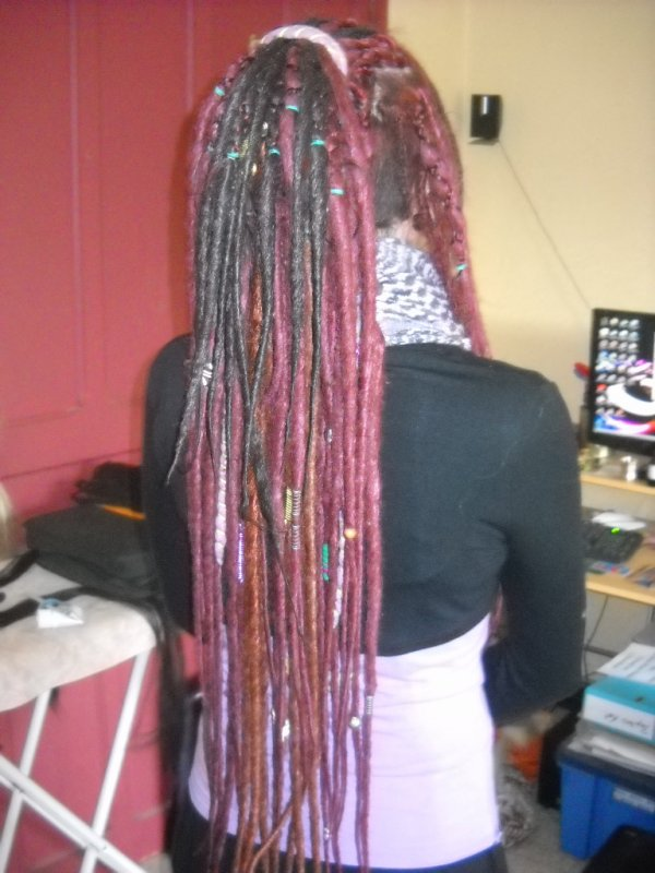 Mes dreads du moment