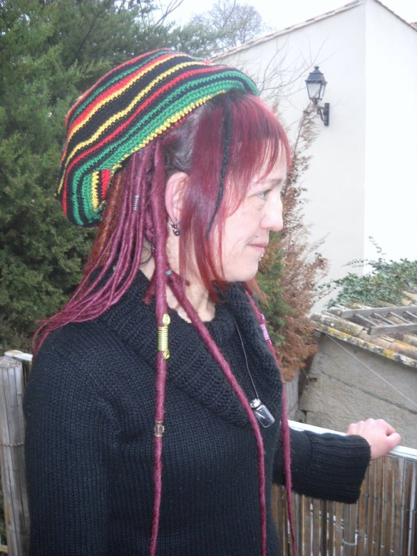 Bonnet à dreads
