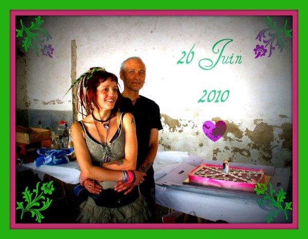 Un an de mariage ♥♥♥