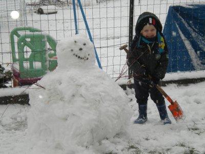 tjs matheo dans la neige