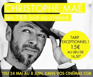 Christophe Mae au Grand Rex !!!