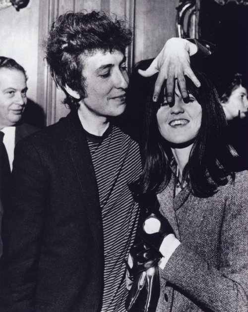 Bob Dylan and Cathy McGowan