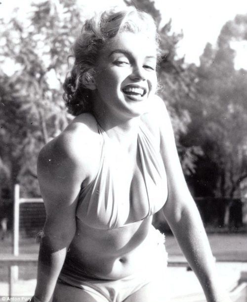 Marilyn Monroe photographed by Anton Fury