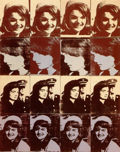 Sixteen Jackies - Andy Warhol, 1964