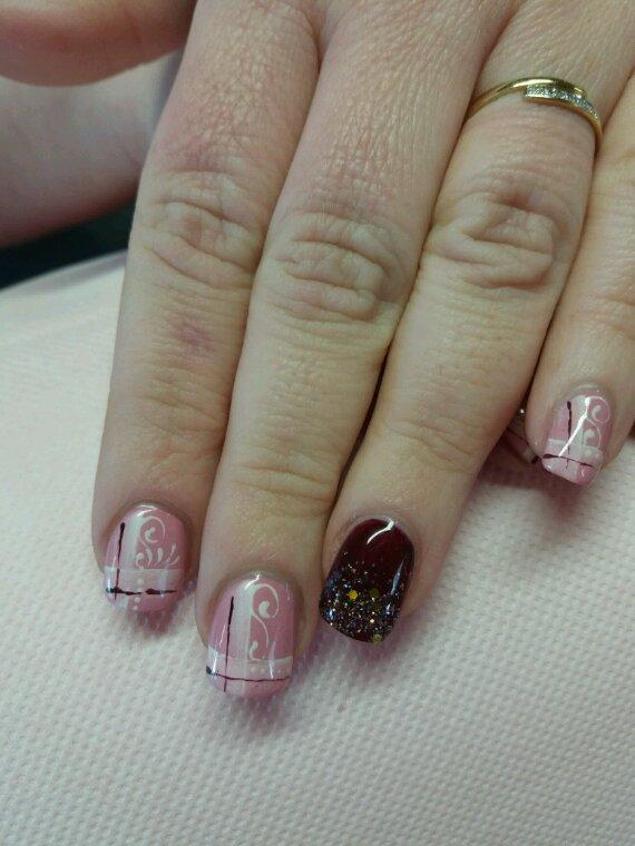Diverses idees deco gel uv peint main...