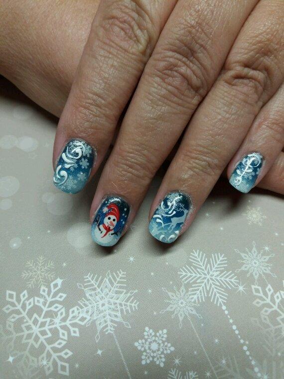 Noel en gel UV