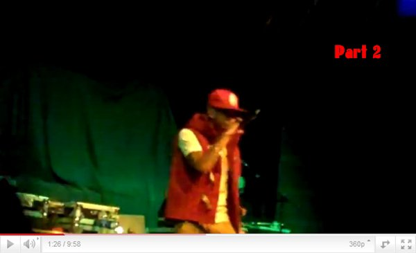 Tyga Performs in Boston