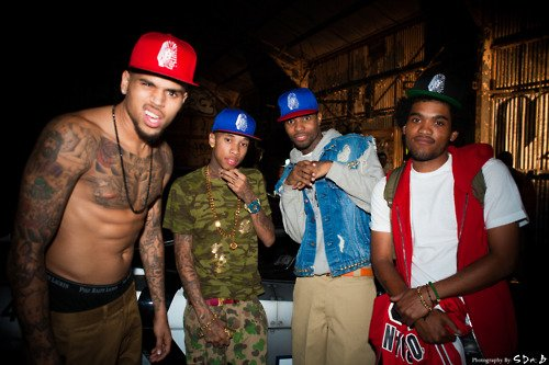 Photoshoop Tyga & Chris