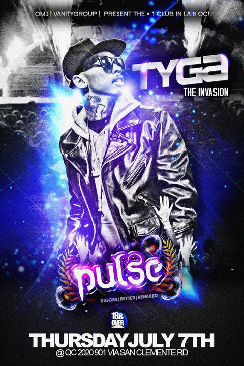 Tyga performing Live at club Pulse.