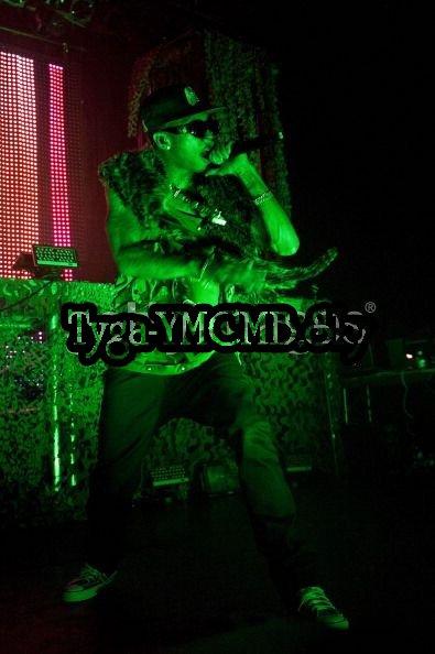 Tyga Perform at Irving Plaza in New York City.#CloserToMyDreamsTour