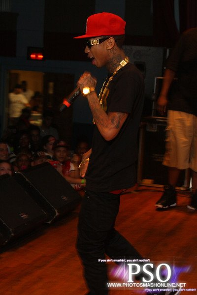 Tyga Perform At New Jersey
