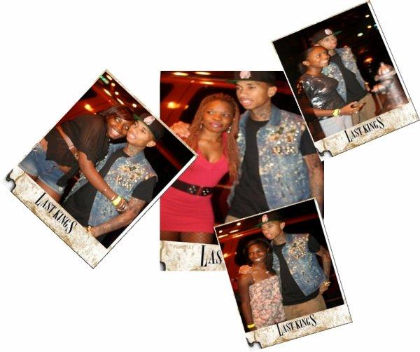 Tyga Avec Ses Fans a Los Angeles