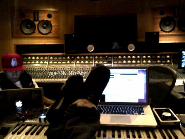 Tyga au Studio