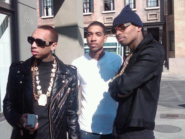 "Tyga On The Set of The ""Still Got It"" Video shoot"