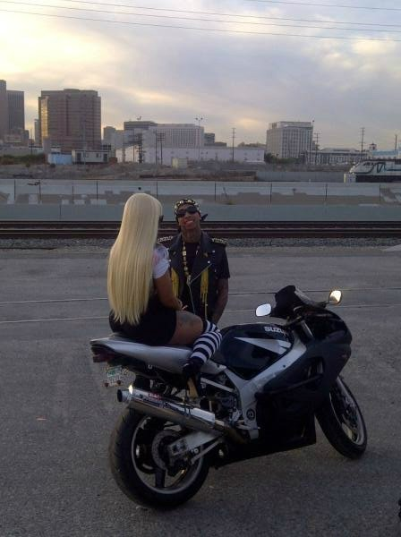 Tyga & Blac Chyna new #RackCity video