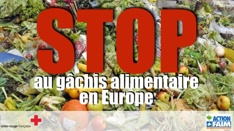 PETITION : Europe Mettons fin au gâchis alimentaire !