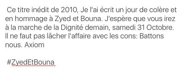"Axiom ""Je crois"" #NouveauSon"