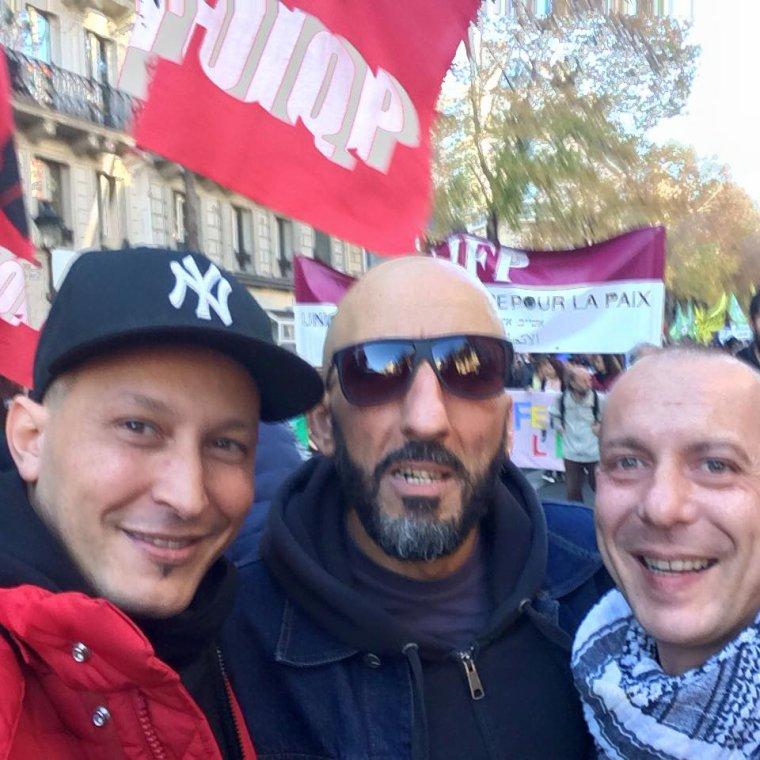 AXIOM, La marche De La Dignité Samedi 31 Octobre 2015 Paris.