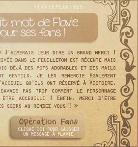 __________ + Petit mot de Flavie pour les fans_________________________________________________________________________ Mensuel n°34