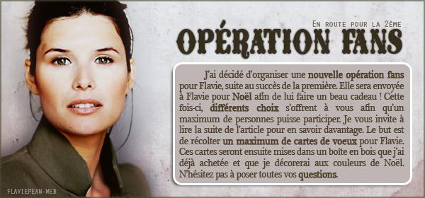 __________ + Opération Fans n°2
