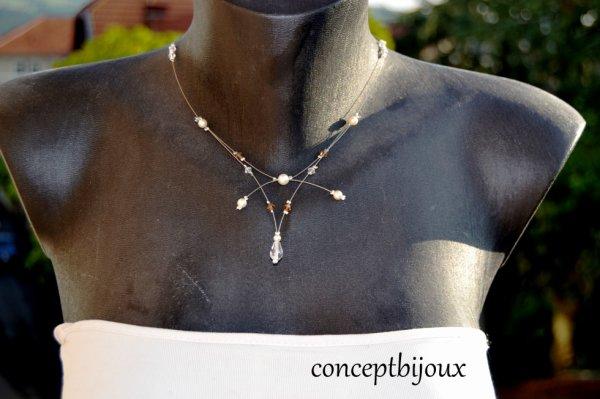 collier de mariée 2014 disponible à la vente