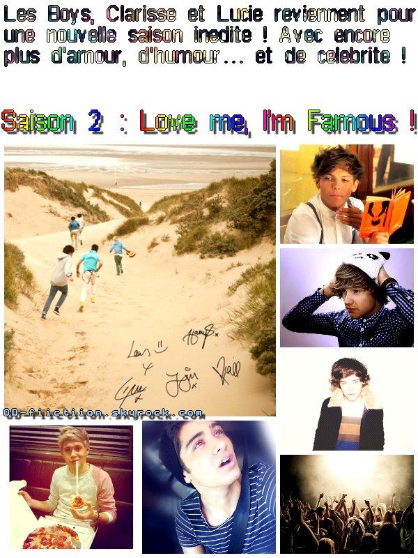 Saison 2 : Love me, I'm Famous !