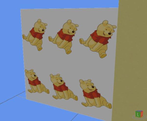 "Tapisserie Sims 4  ""Winnie"""