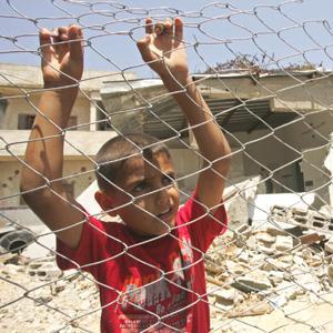 | les enƒants du siècle | localisation : gaza, palestine