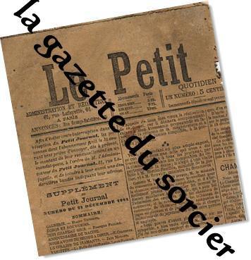 | la gazette du sorcier |