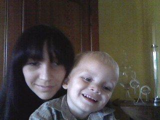 matheo avec sa cousine